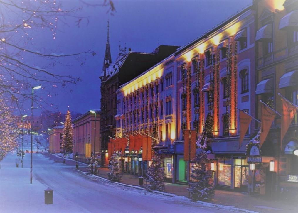 Новый год в Осло!