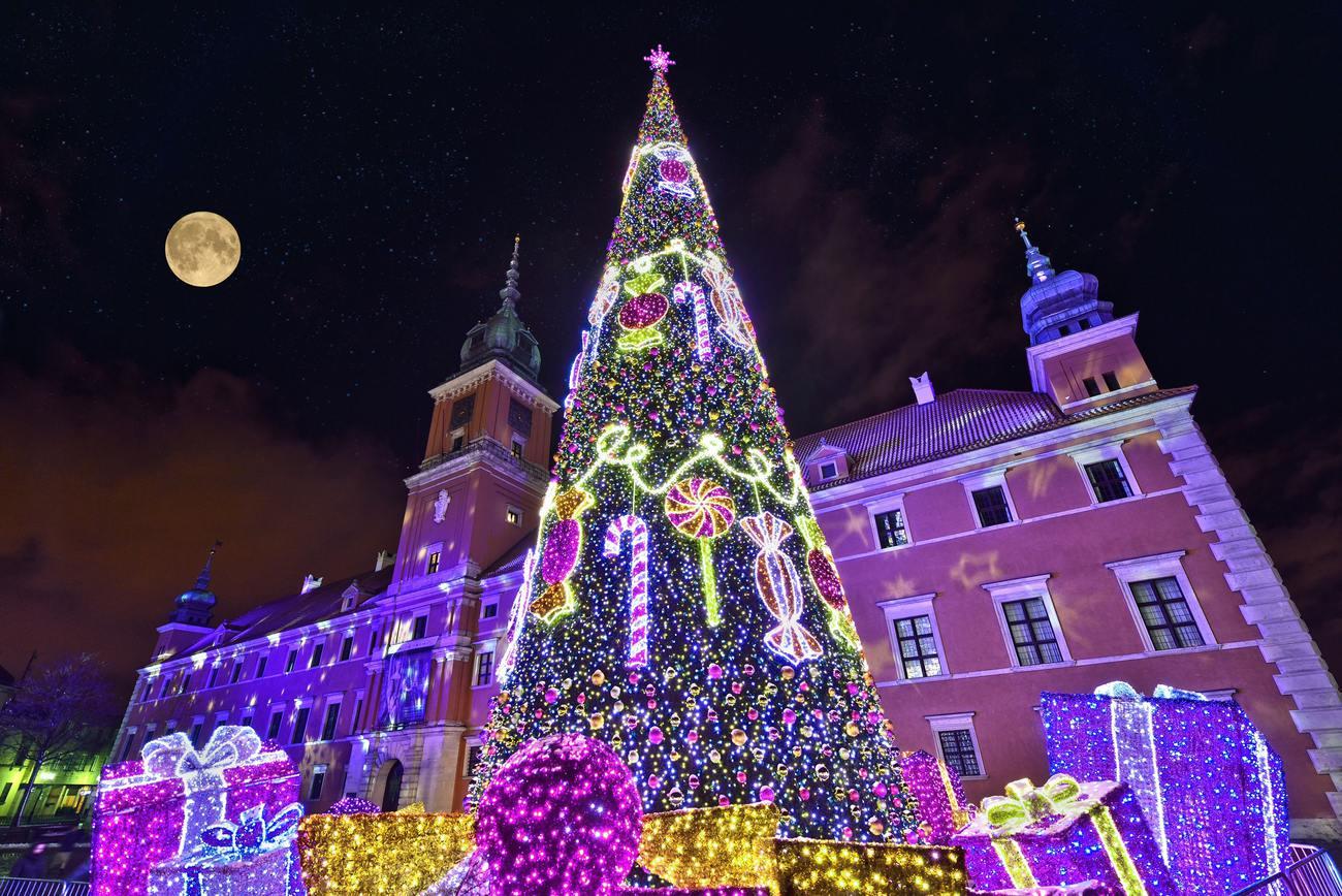 Новый год в Варшаве! Без ночных переездов!