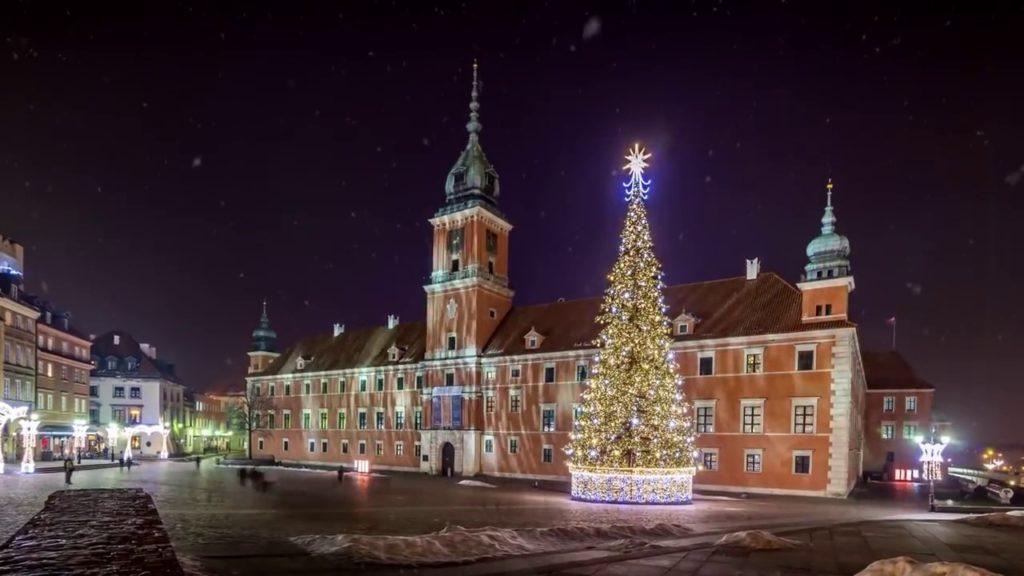 Рождество в Варшаве!